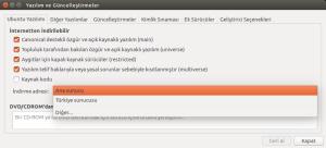 """3. İndirme adresi olarak """"Türkiye Sunucusu"""" seçili, bunu Main Server ya da Ana Sunucu olarak değiştiriyoruz."""